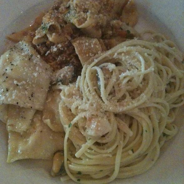 Pasta Trio @ Lidia's Restaurant
