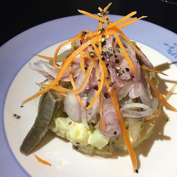 Smoked Herring Salad @ BRETON