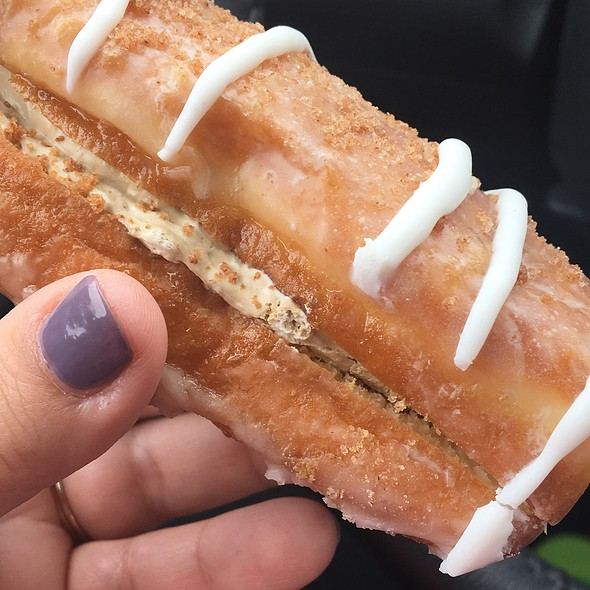 Maple Cream Donut