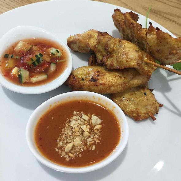 Chicken satay @ Rice Thai Bistro