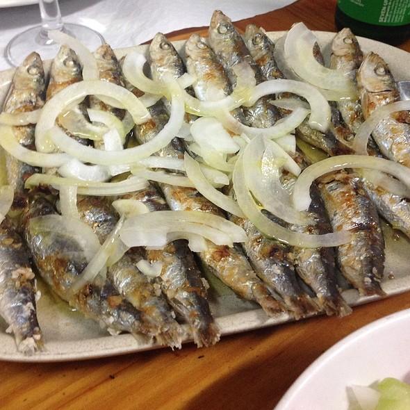 Grilled Small Sardines @ Tasquinha D.Maria