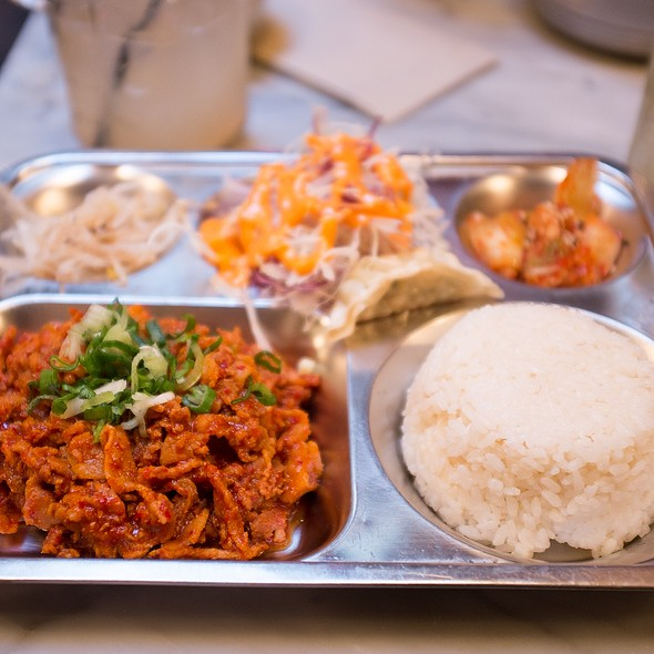 Spicy Pork Baek Ban @ On The Bab