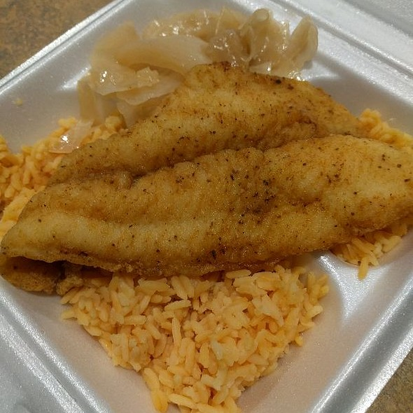 Fried Fish & Cabbage