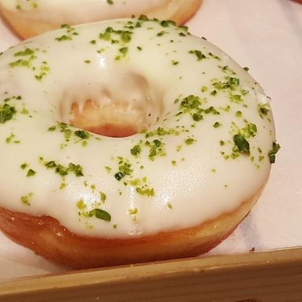 White Chocolate Donut