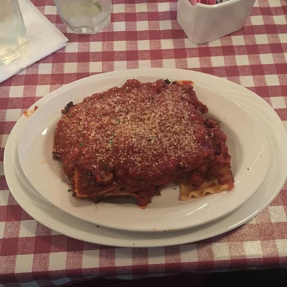 lasagna @ Espanol Restaurant