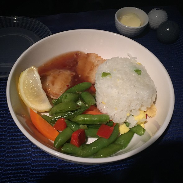 Pan Fried Black Cod @ United Airlines