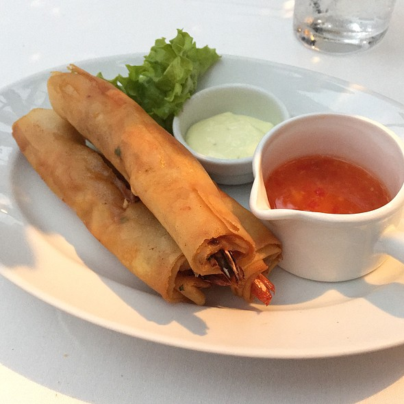 Prawn Spring Roll @ China Grill