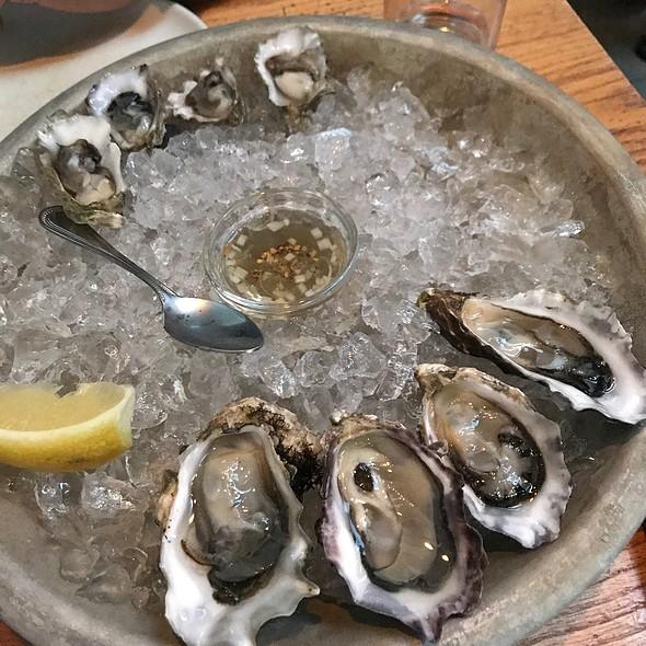 Miyagi Oysters @ Bar Agricole