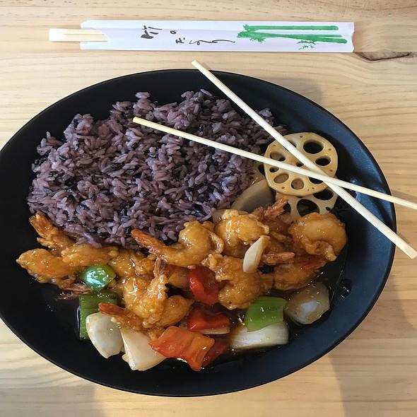 Tropical Shrimp, Asian Style