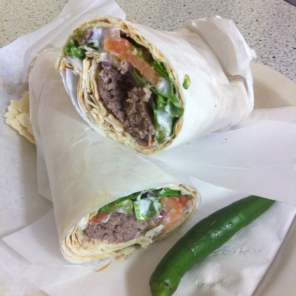 Beef Kabob Wrap
