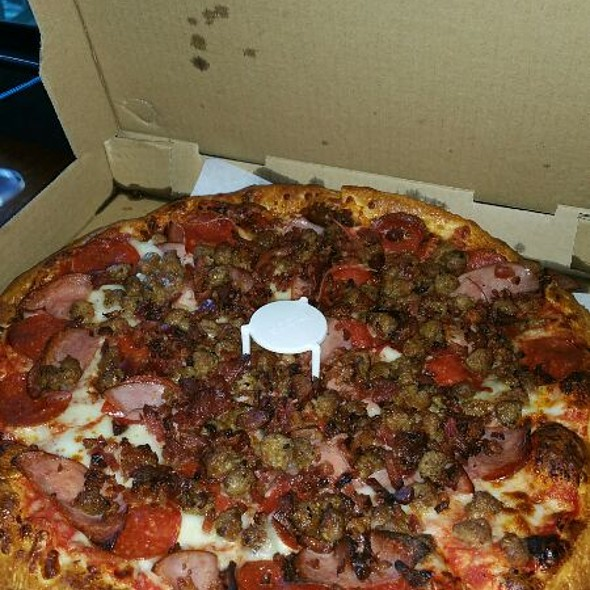 Meat Lovers Pizza @ Santino's Pizza Parlor