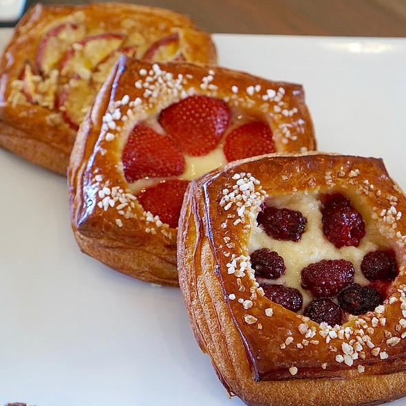 Fruit Pastries @ Bob's Well Bread Bakery
