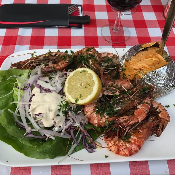 Grilled Shrimps @ Amadeus II