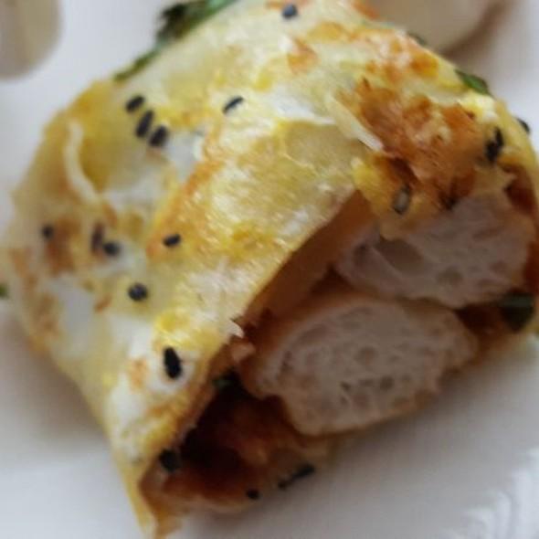 Fried Dough Wrapped Pancake