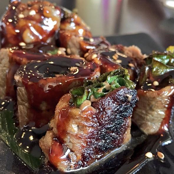 Beef Negimaki @ Keeper's Japanese Restaurant