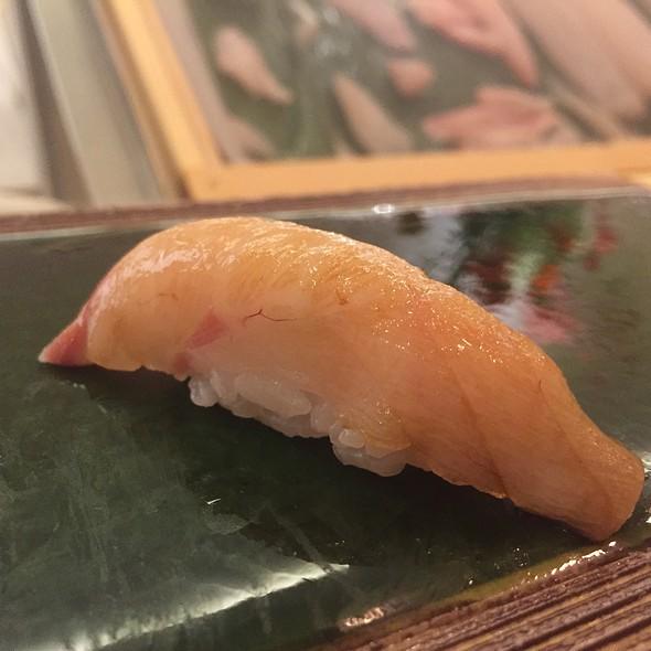 Japanese Nodoguru (Blackthroat Sea Perch) Nigiri