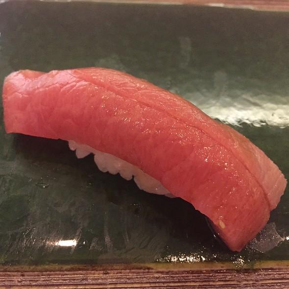 Japanese Bluefin Hagashi (Very Fatty Toro) Nigiri