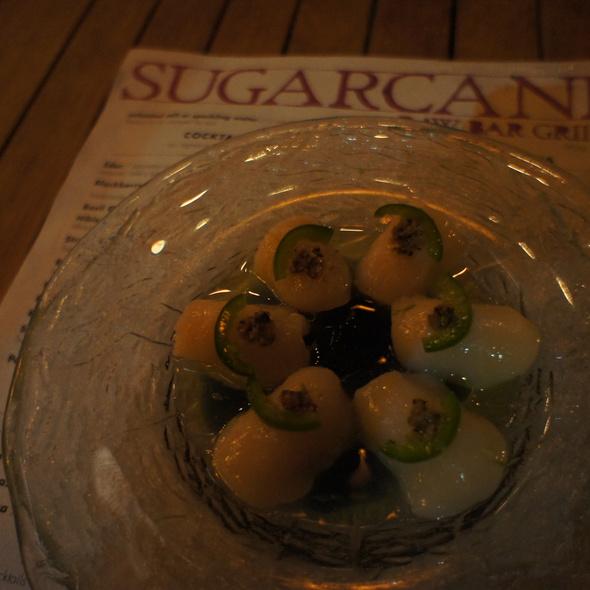 Scallops @ SUGARCANE