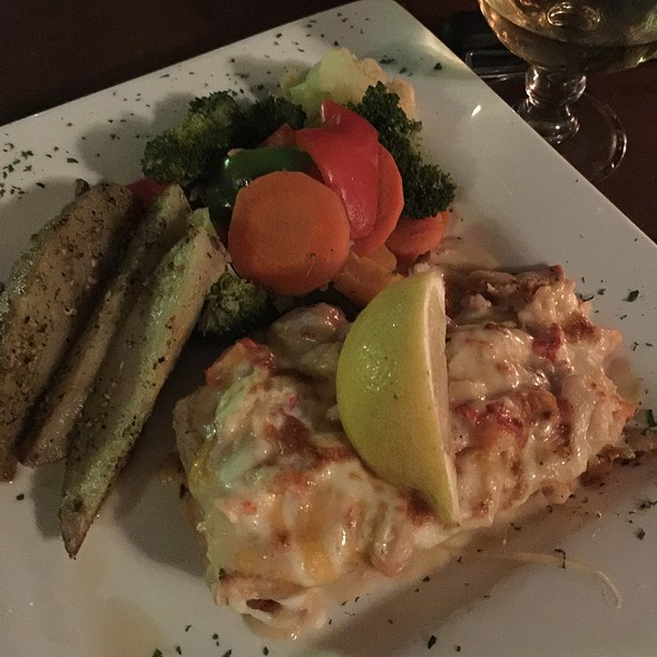 Creamy Lobster On A Ciabatta Bun