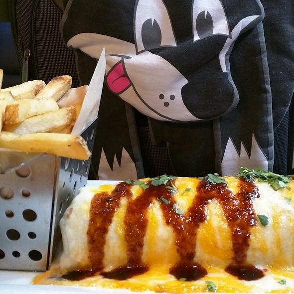 Smothered Smoked Chicken Burrito @ Chili's Grill & Bar