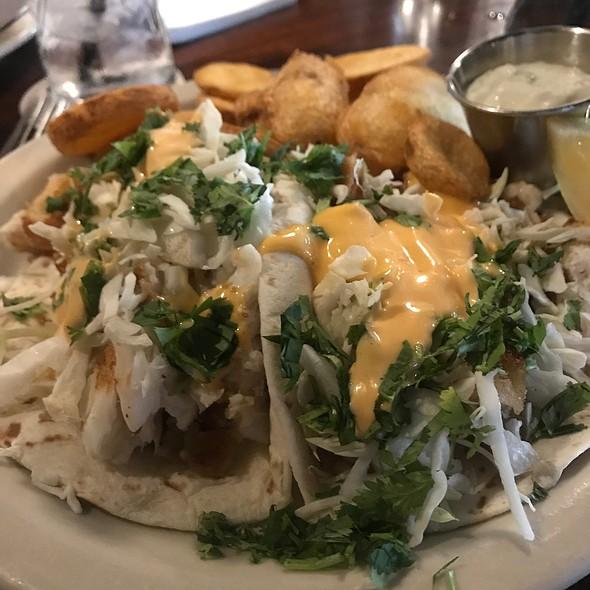 fish tacos @ O'Bryan's Nine Irish Brothers