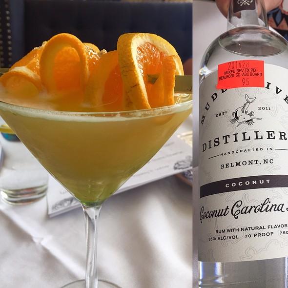 Coconut Rum Martini