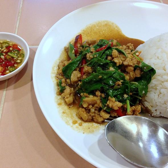 Gapao Rice @ ร้านอาหารอินเตอร์ (Inter Restaurant since 1981)