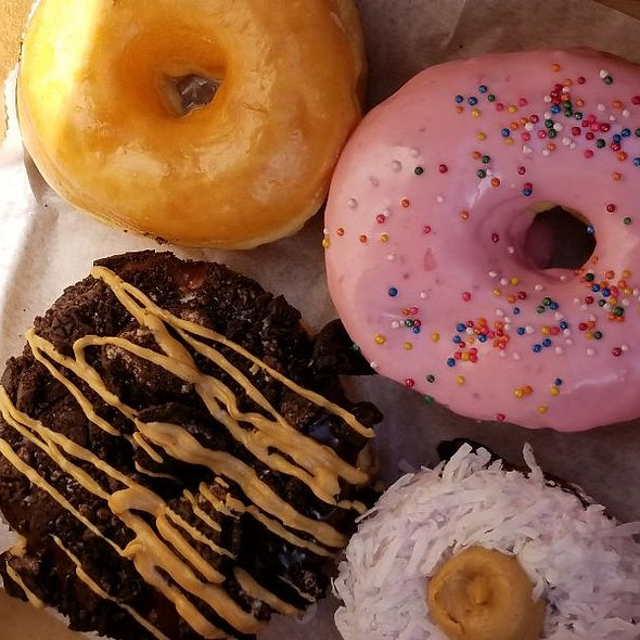 Homer, Glazed, Dirty Snowball, ODB @ Voodoo Doughnut Mile High