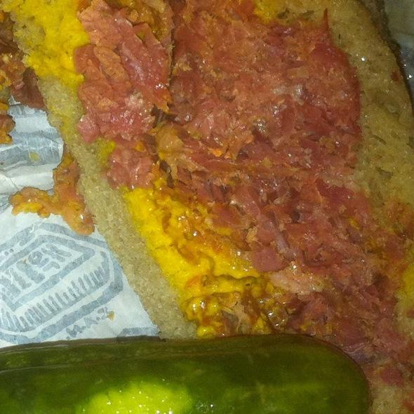 Pastrami Sandwich @ Zingerman's Deli