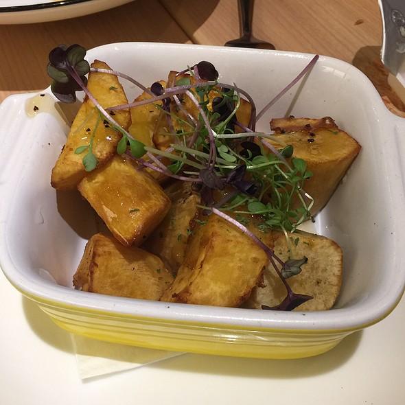 Black Truffle Honey Coated Sweet Potato