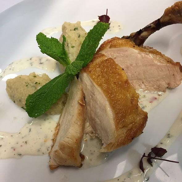 Chicken Supreme/Couscous/Joghurt/Mint @ Le Blanc