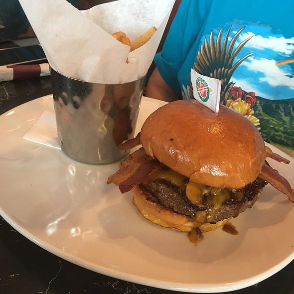 Hickory Smokehouse Cheddar Burger