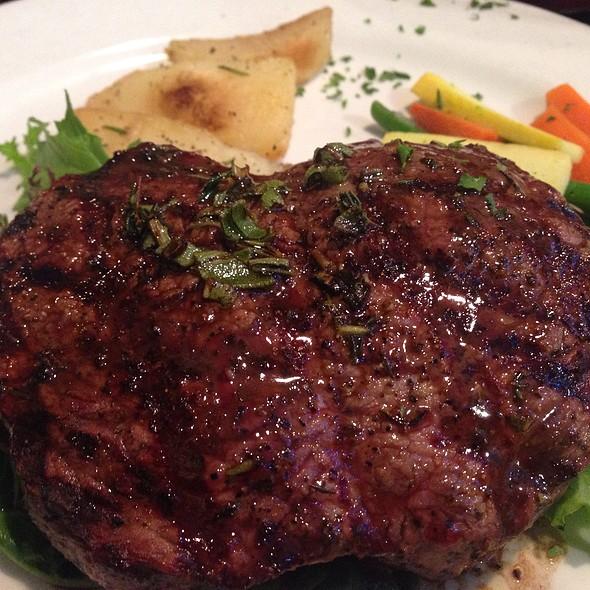 Culotte Steak Served Medium