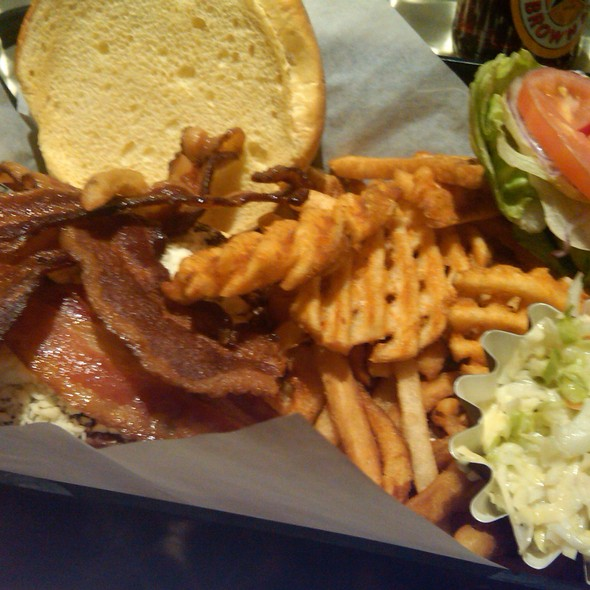 Double Bleu Cheese N' Bacon Burger - All American Bar & Grille - Rio All-Suite Hotel & Casino, Las Vegas, NV