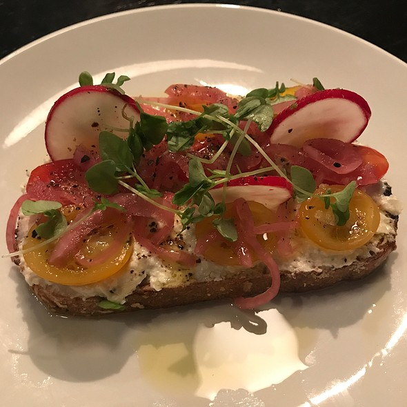 Whipped Goat Cheese And Ricotta Toast