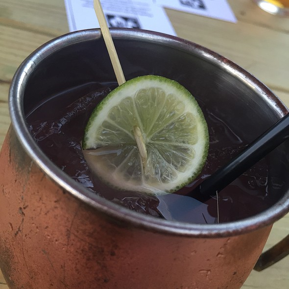 Watermelon Mule @ Fm Kitchen And Bar