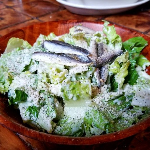 House Caesar Salad With Fresh Anchovies