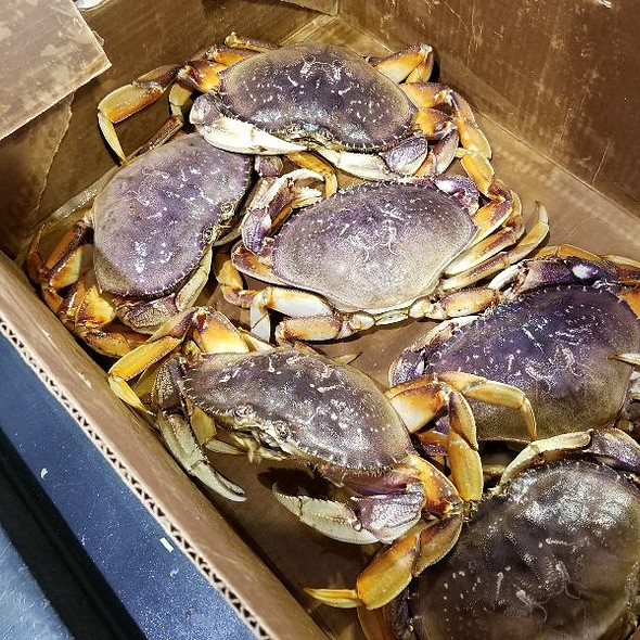 Dungeness Crab @ New England Lobster Market & Eatery