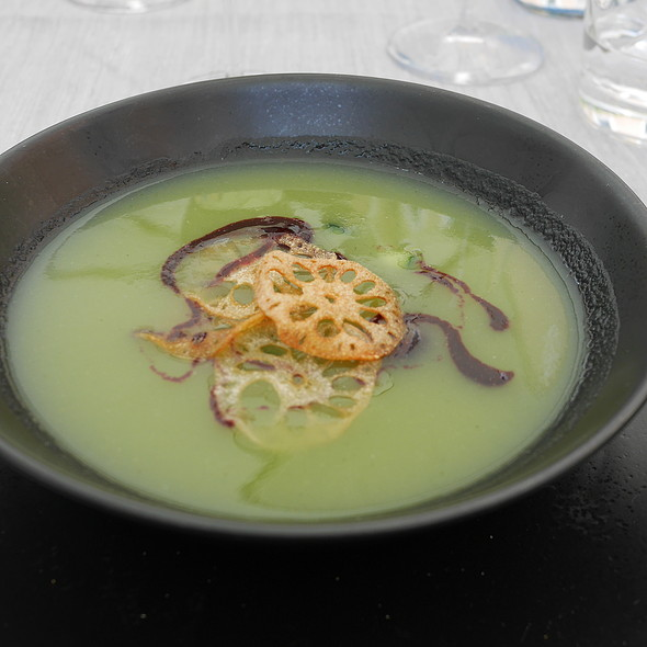 Cold Soup of Cucumber and Melon