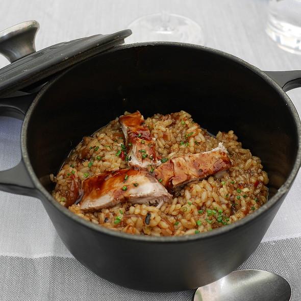 Risotto with Partridge @ Quadrat Restaurant & Garden