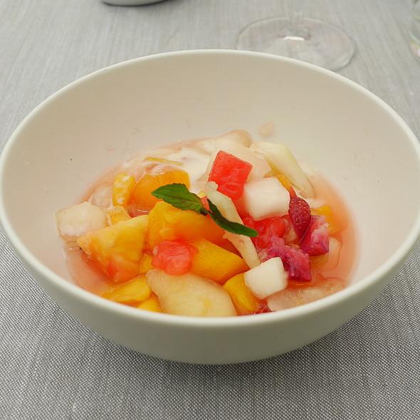 Fruit Salad @ Quadrat Restaurant & Garden