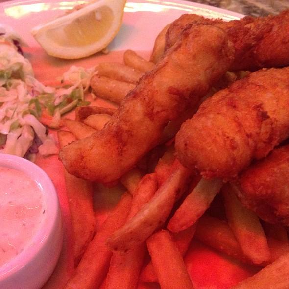 Fish & Chips @ Jimmy Buffett's Margaritaville