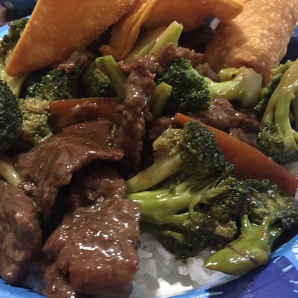 Beef and broccoli @ China Gourmet