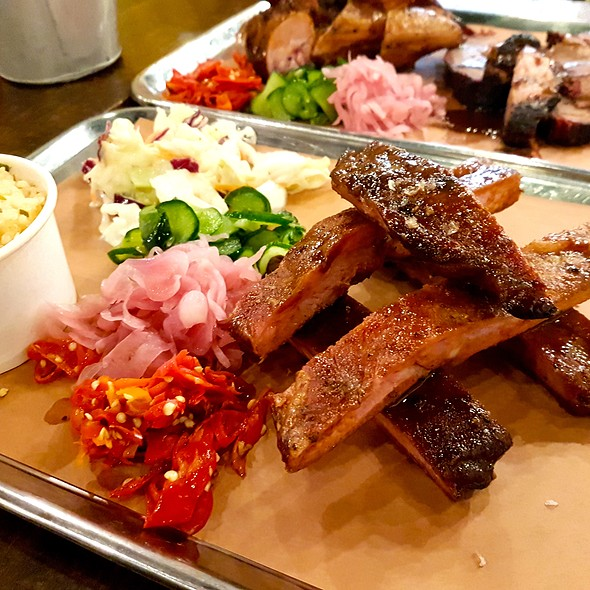 Spareribs @ Mighty Quinn's Barbecue