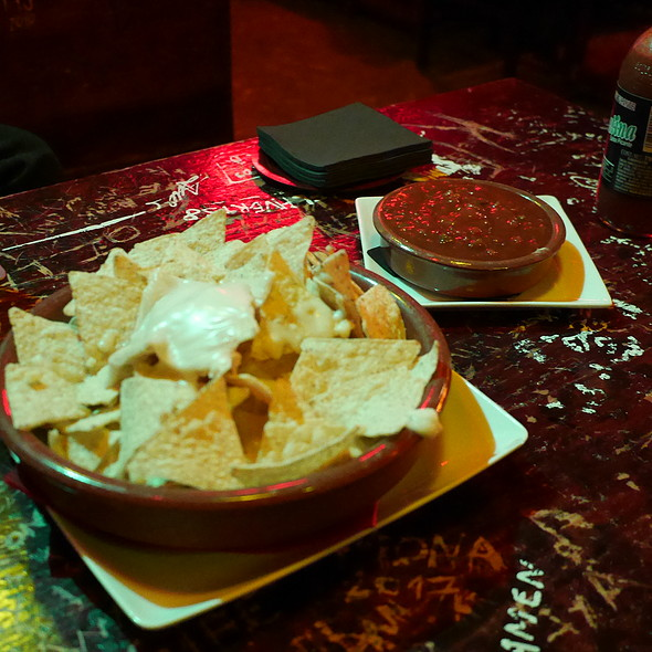 Nachos @ Cafe Atlántico