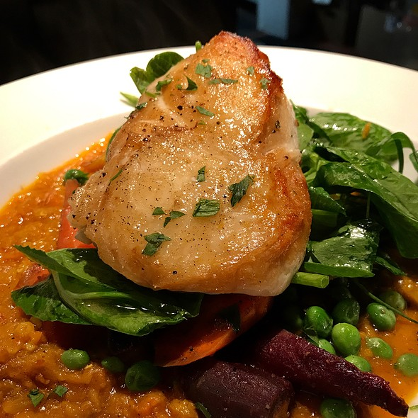 Halibut And Red Lentils