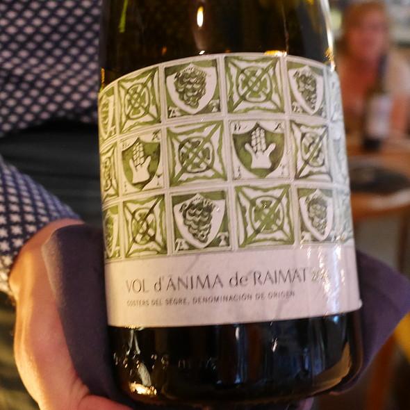 White Wine @ Adrian Quetglas Restaurant