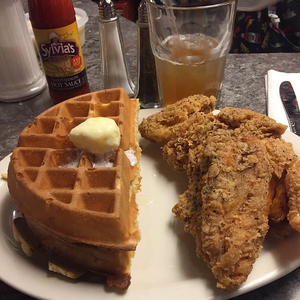 Chicken and Waffles @ Sylvia's Restaurant of Harlem