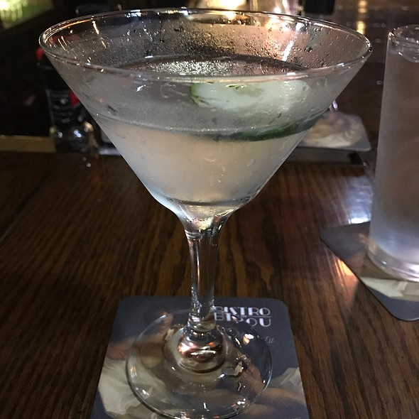 Hendrick's Gin Cucumber Gimlet