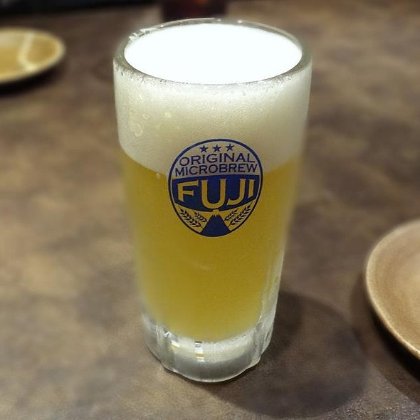 Shiro Fuji Draft Beer @ SAISAI-TOKORI